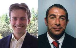 Arnaud Toussaint et Yann Marty