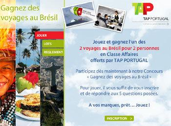 Brésil : TAP Portugal fait gagner des billets en classe affaires aux AGV