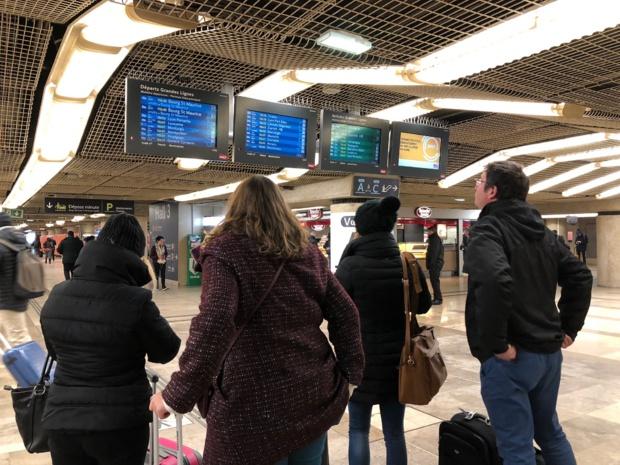 Alors que la SNCF prépare une action de grande ampleur et des grèves perlées à partir du début avril, les litiges pour retard et annulation devraient bondir... /photo JDL