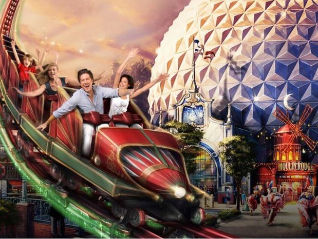 Parmi les nouveautés 2018, EuropaPark lancera le Can-can coaster cet été - DR EuropaPark