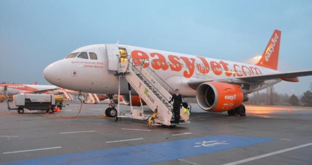 easyjet annule 104 vols au départ de France en raison de la grève des contrôleurs aériens ce jeudi 22 mars 2018 - Photo Easyjet