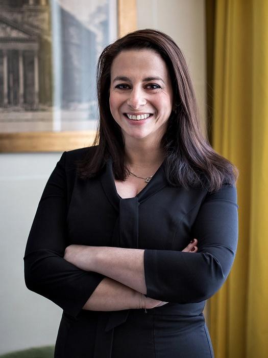 Laetitia Elmaleh directrice générale de l'Hôtel de Berri - DR