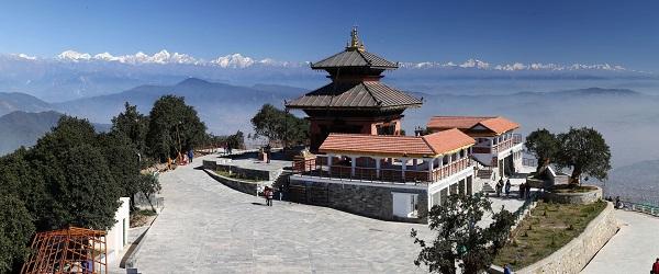 Chandragiri Hills à Thankot est menacé par un groupe local - Crédit photo : www.chandragirihills.com