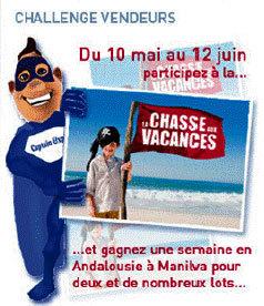 Pierre et Vacances : challenge de vente la ''Chasse aux Vacances''