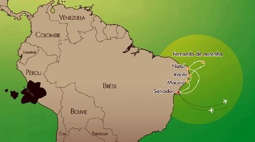Croisières de France positionnera le ''Bleu de France'' au Brésil