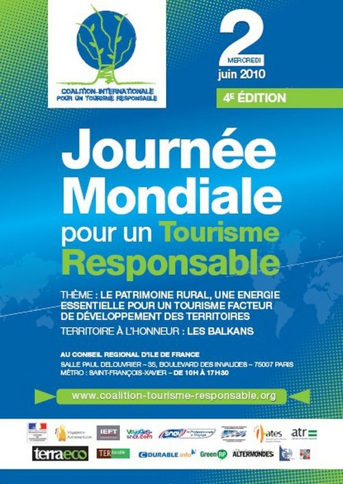 Sensibiliser les professionnels au tourisme responsable le 2 juin prochain à Paris