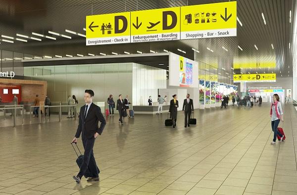 Toulouse-Blagnac inaugure son nouveau contrôle de sûreté dans le Hall D - Crédit photo : Aéroport de Toulouse-Blagnac