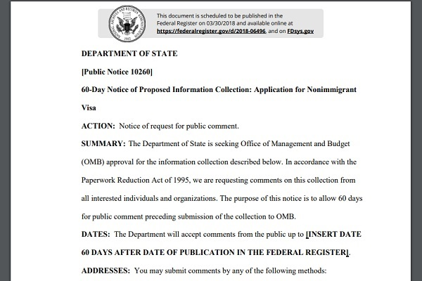 Extrait du texte de loi déposé - Capture écran
