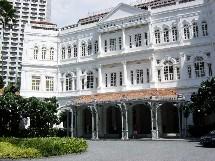 Vendre le Luxe n'est pas chose facile (ici Raffles à Singapour). Travelia va former les agences aux techniques particulière de la vente du produit.