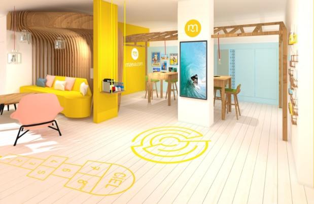 Sur le terrain, une équipe locale de Pierre & Vacances assure la remise des clés et propose ses services. Ici, la réception aux couleurs de la marque. - Maeva.com