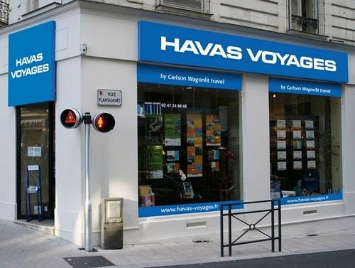 Les premières enseignes, Havas Voyages by Carlson Wagonlit Travel, seront posées au cours de l'été. Le site internet Carlson Wagonlit Voyages passera aux couleurs Havas Voyages dès le mois de juin 2010