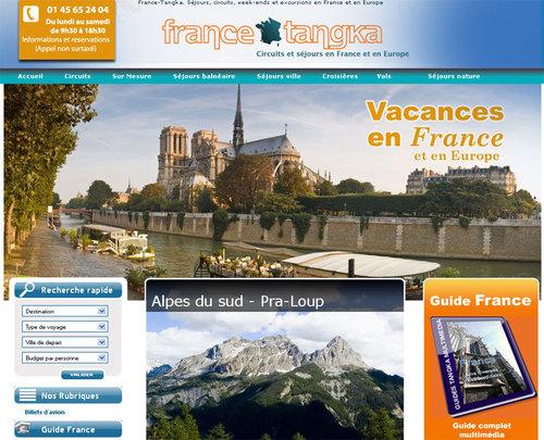 Séjours en France et en Europe : Tangka lance un site B2C