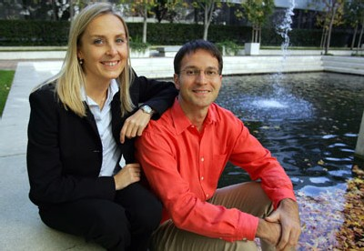 Beatrice Tarka et Svetlozar Nestorov, co-fondateurs de Mobissimo.