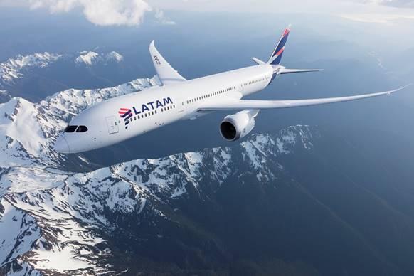 La compagnie opérera trois vols hebdomadaires en Boeing 787 entre Tel Aviv et Santiago - DR : LATAM Airlines