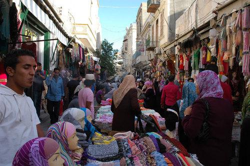 Le marché à Tripoli