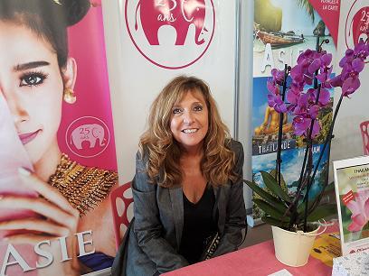 Christine Crispin PDG-fondatrice de Climats du Monde. Photo MS.