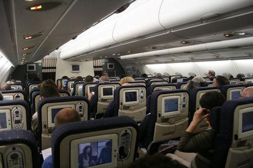 A380 j 39 ai test pour vous la classe 39 39 voyageurs 39 39 d for Interieur 747 air france