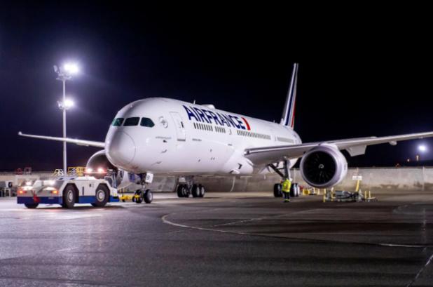 L'un des Boeing 787 Dreamliner qu'Air France a positionné sur la ligne Paris-Nairobi (Kenya), ouverte le 25 mars © Air France