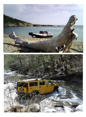 Corse Publitour voyages : Forfait Aventure 4X4, Bateau,Bivouac à 610 euros par personne