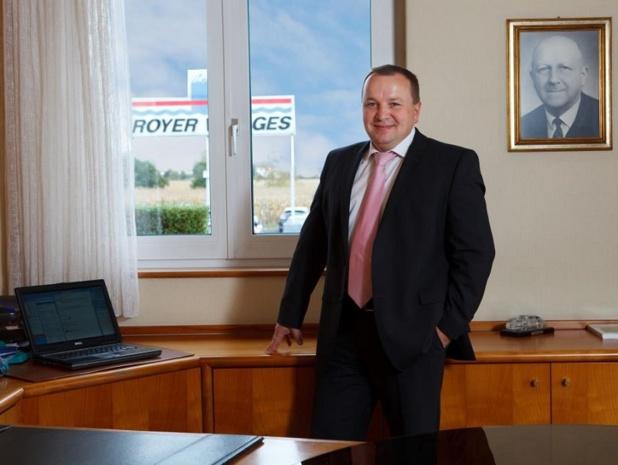 Paul Royer, P-DG et actionnaire unique du groupe, représente la 3e génération de la famille - DR : Groupe Royer
