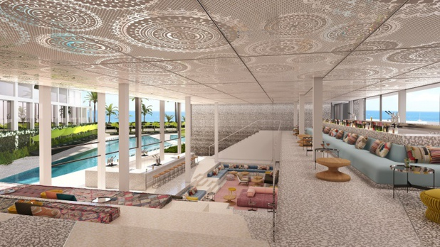 Le W Ibiza disposera de 162 chambres et suites et ouvrira en 2019 - Photo DR W Hotels Worldwide