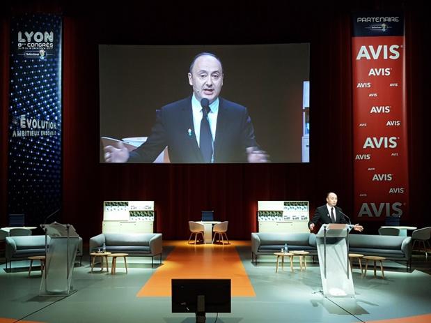 Laurent Abitbol président de la coopérative souhaite réformer le réseau. Le projet Sunrise a été adopté ce 10 avril 2018 - Photo CE