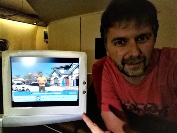 Xavier Petit, animateur du magazine Pays & Marchés du Monde /photo dr