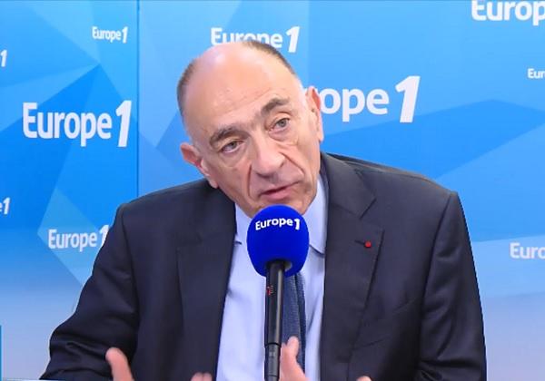 Le patron d'Air France, Jean-Marc Janaillac a défendu sa proposition de négociation au micro d'Europe 1 - Crédit photo : Europe 1