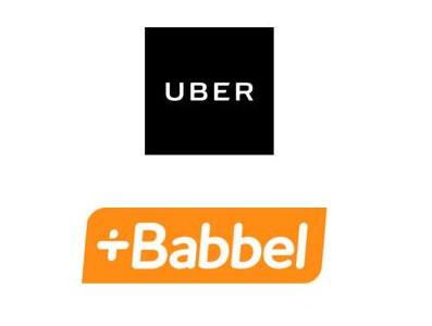 Uber s'associe à Babbel pour des cours de langue