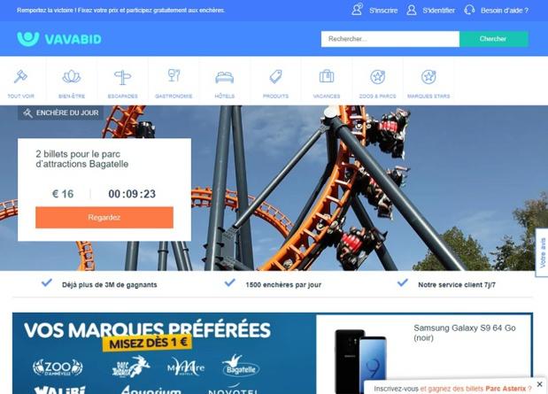 Gilles Delaruelle est le directeur général de Vavabid pour la France - DR capture écran