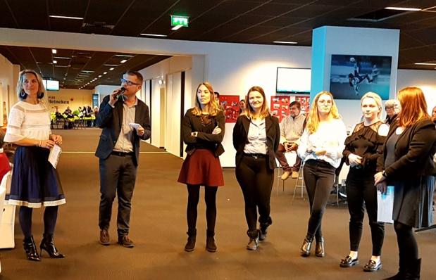 L'équipe Planet'Rêve, avec Océanne Boulouarn au centre - DR : Planet'Rêve