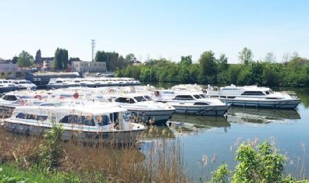 La nouvelle base du Boat à Saint- Jean-de-Losne (Côte-d'Or)  - DR Le Boat