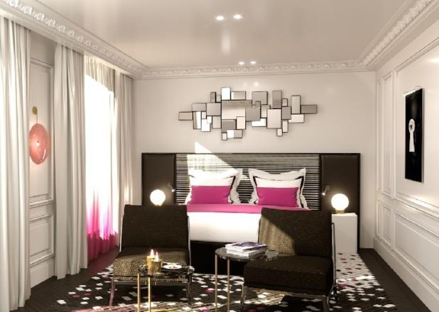 L'Hôtel Paris disposera de 54 chambres dont 11 suites - Photo DR Fauchon