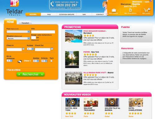 Teldar Travel : nouvelle centrale de résa hôtelière B2B