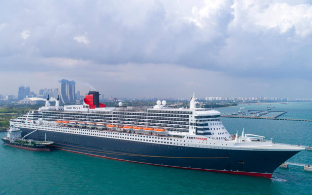 Offre spéciale agents de voyages à bord du Queen Mary 2 - Photo Facebook Cunard
