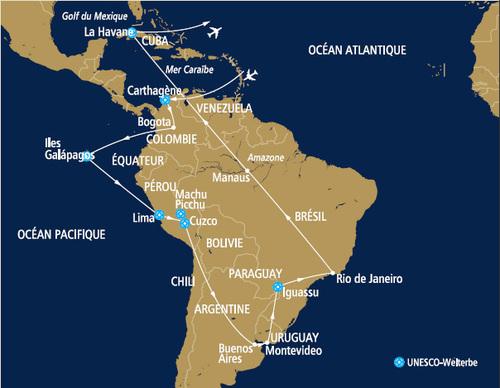 Safrans du Monde lance une croisière aérienne en Jet en Amérique du Sud