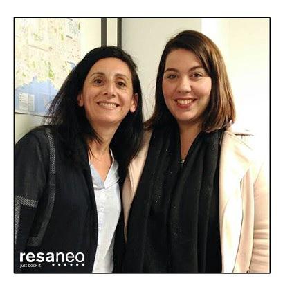 Éloïse Crivelli et Magalie Gagneux rejoignent Resaneo - Crédit photo : Resaneo