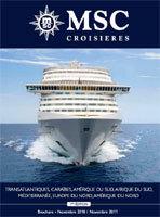 MSC Croisières : nouvelle brochure 2010-2011