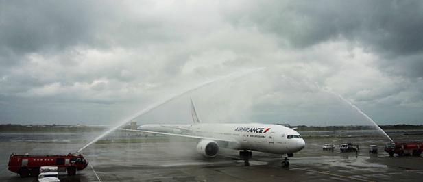 Paris-Charles de Gaulle – Taipei (Taïwan) a été inaugurée par Air France lundi 16 avril  2018 - DR AF