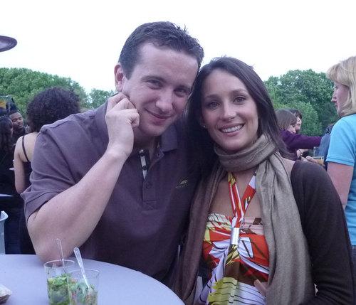 Fabien Krol, directeur adjoint du TO Beachcomber Tours et Olivia Descroizilles, responsable commerciale de l'hôtel Trou aux Biches