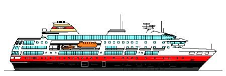 Hurtigruten : un nouveau navire pour le Groenland