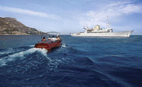 Monaco : des croisières côtières ''opéra'' à bord de l'historique Christina