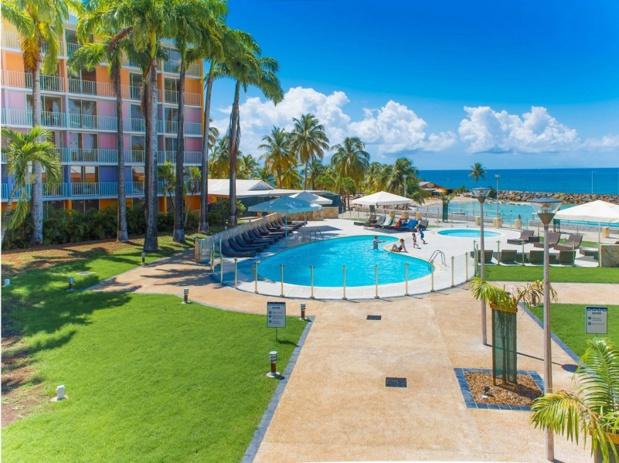 le Karibea Beach Hôtel au Gosier est placeé sur l'arc des Petites Antilles en Guadeloupe - DR Karibean Hotels & Résidences