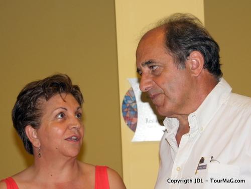 Jean-Pierre Mas, en vacances au Brésil, a pris le temps de venir est présenter ce vendredi en fin d'après midi, à huis clos, les conditions et modalités du partenariat possible.
