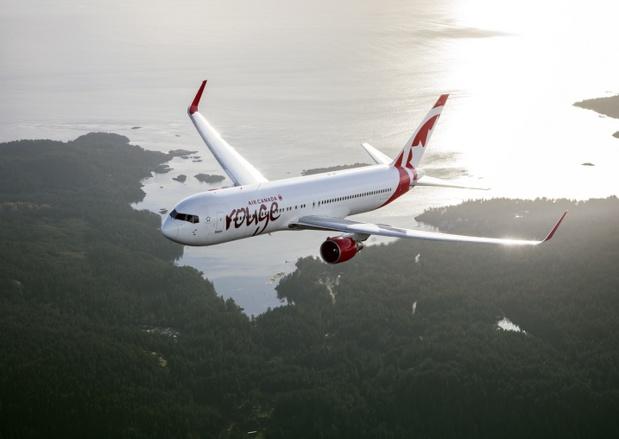 Le vol Marseille - Montréal opéré par Air Canada Rouge débutera le 9 juin prochain et sera désormais assuré jusqu'au 19 novembre 2018. - DR Air Canada