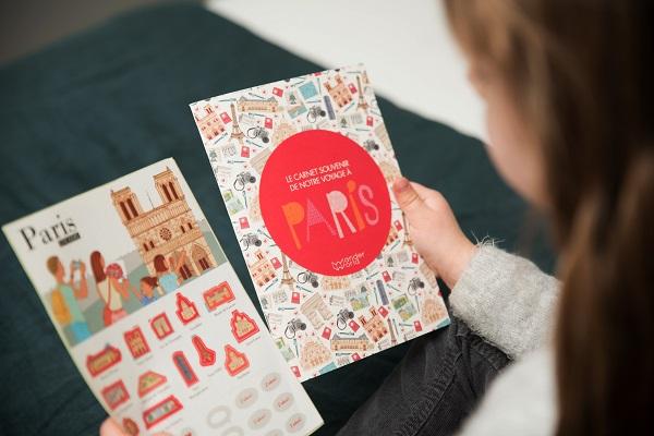 Après Paris, Nantes et Barcelone se sont ajoutés à la collection de carnets - Crédit photo : WanderWorld