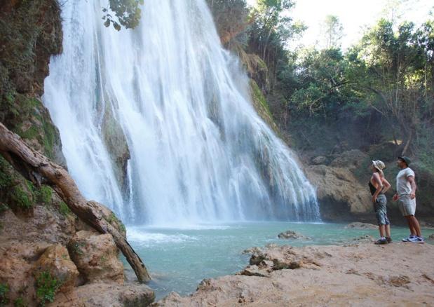 La Cascade El Limón, à Samaná - Photo de l'OT de la République Dominicaine