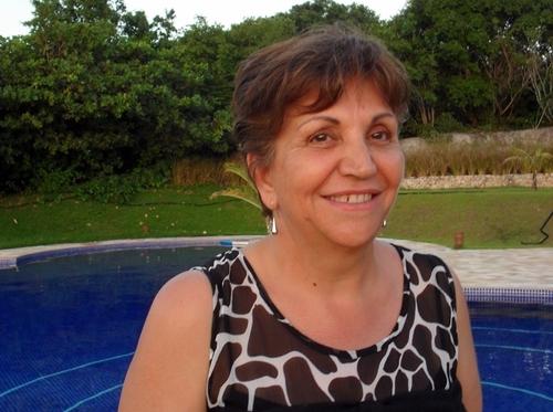 Adriana, présidente heureuse du Cediv, le petit réseau qui monte, qui monte...