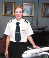 Gulf Air : Caroline Le Cann, 1ère française femme pilote