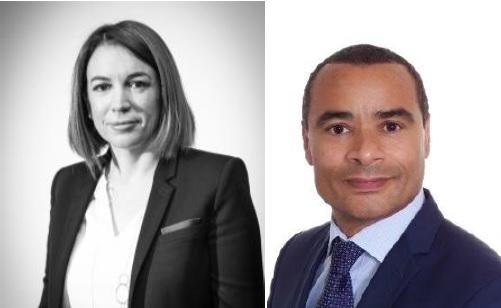 Florence Beyaert et Wilfrid Pliya - DR
